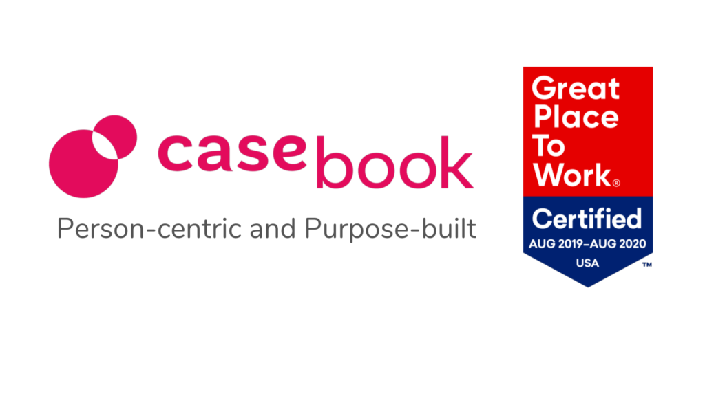 Casebook PBC Earned Designation as a Great Place to Work-Certified™ Company in 2019