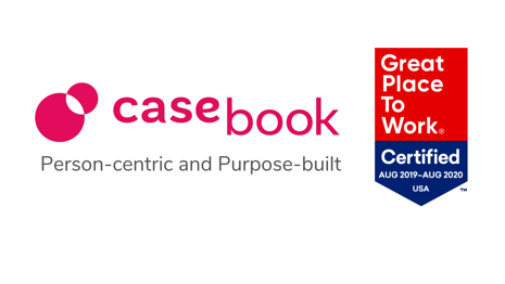 casebook Person-centric and Purpose-built